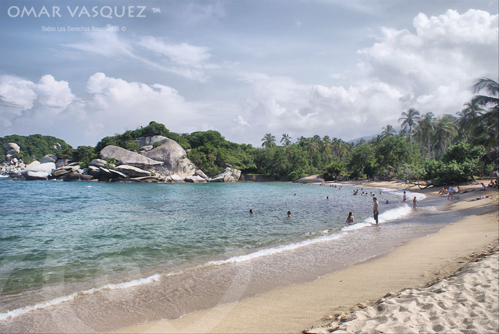 Beach at Tayrona National Park
