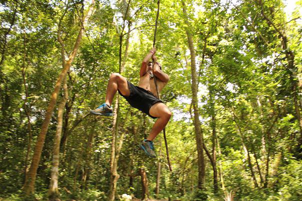 Monkeying around in Tayrona's jungles