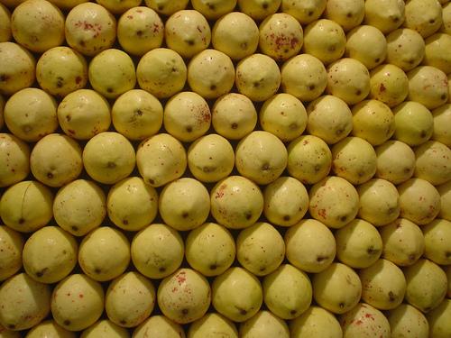Guayaba Colombian fruit