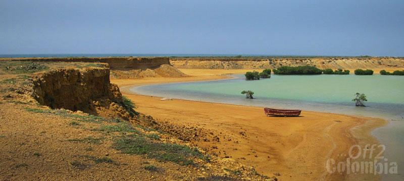 Colour contrasts in La Guajira