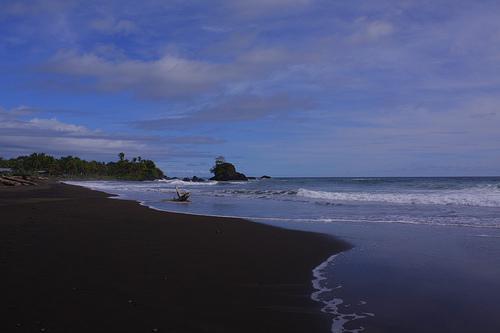 Beach in El Choco