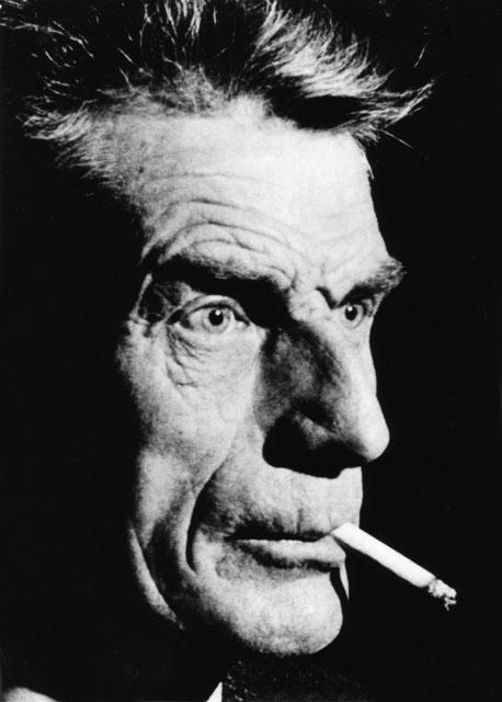 A hero of mine, Samuel Beckett