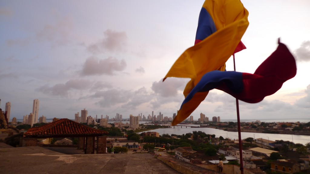 Lachy's shot of Cartagena