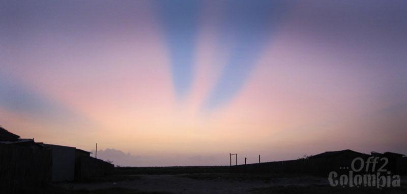 Sunrise in La Guajira
