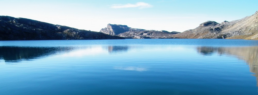 One of El Cocuy's beautiful glacial lakes
