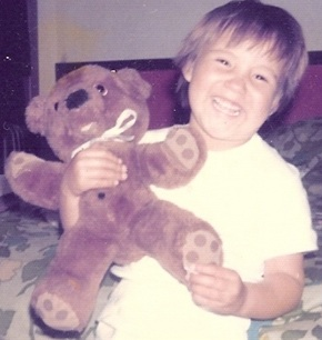 Nicole as a child