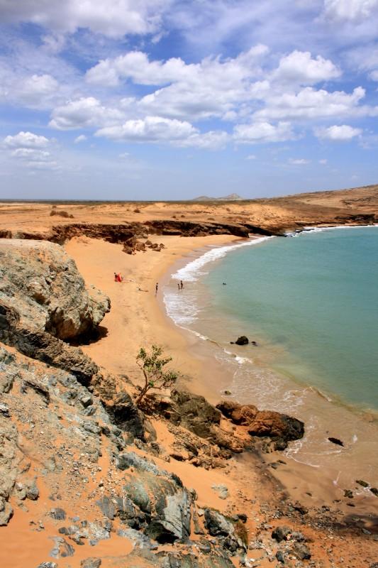 The beach at Cabo de La Vela