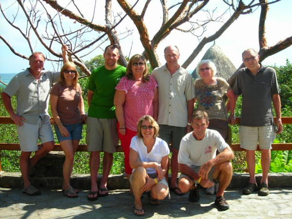 Jared Bundra and family