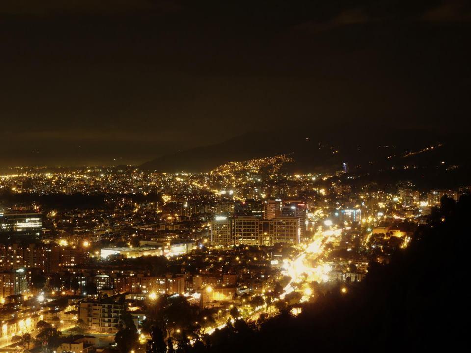 Bogota by night