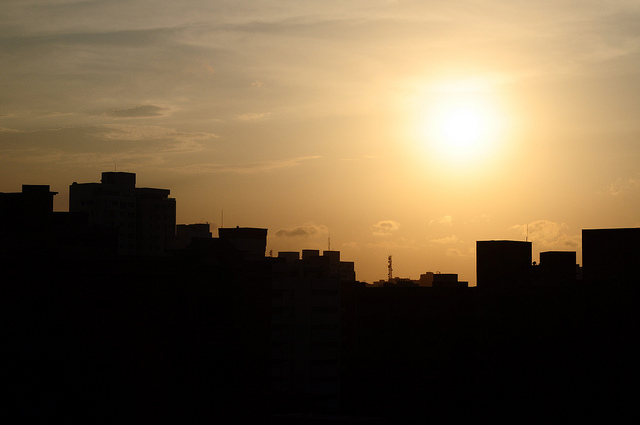 Sunset in Barranquilla