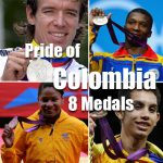 Celebrating Colombia's First Olympic Gold Medal of London 2012, and the Most Medals in Colombian History!