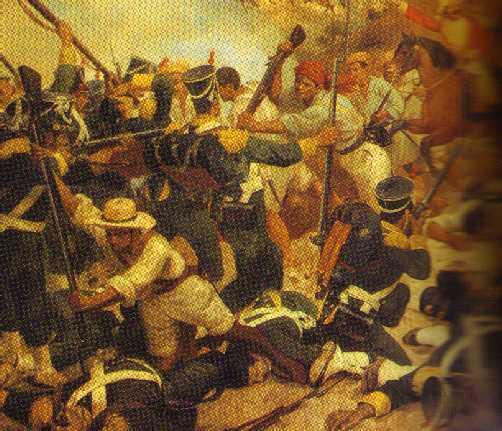 The Battle of Boyaca
