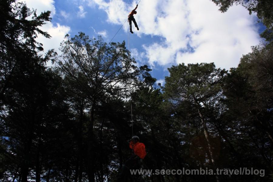 Algunos deportes extremos en el Parque Arvi