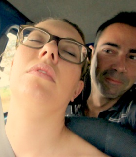 Just gorgeous, catching some Zs on the way to Calima