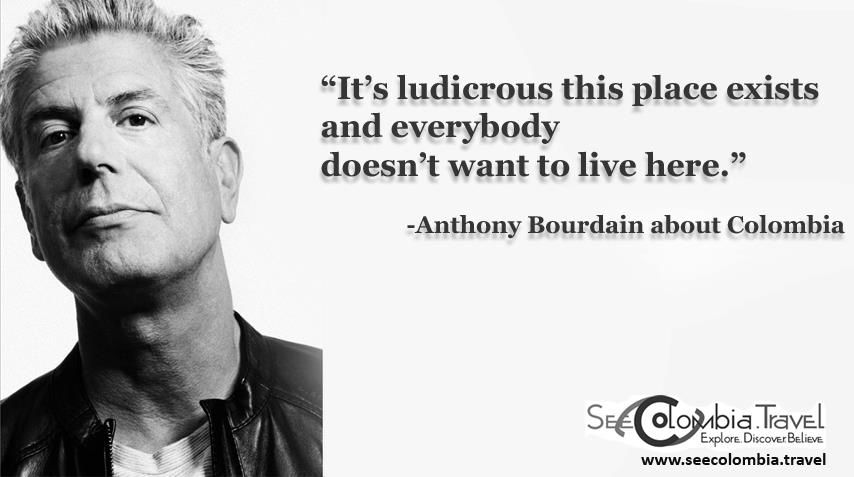 Wise word from Snr. Bourdain