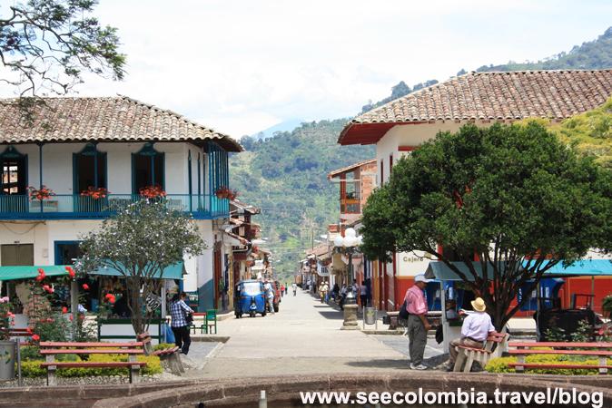 Jardín compite con Barichara, Guane, Villa de Leyva y Salento por el título del pueblo más bonito de Colombia.