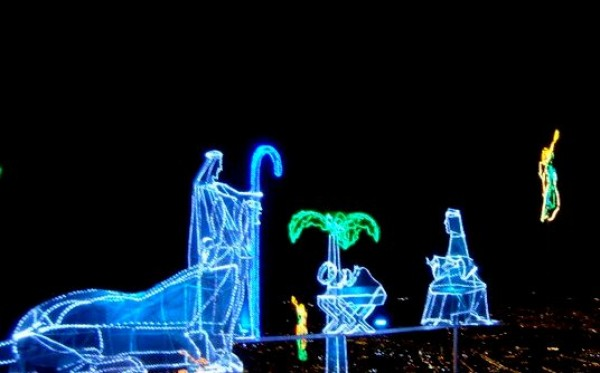 Christmas lights Monserrate by JL
