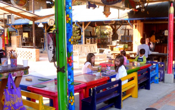 Play time for kids at Andres Carne de Res, Chia