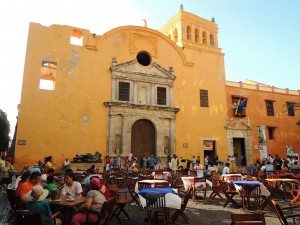The main square in Cartagena