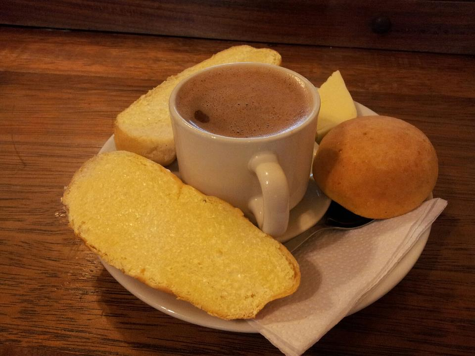 Hot Chocolate and cheese!