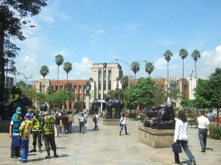 A beautiful warm day in Medellín