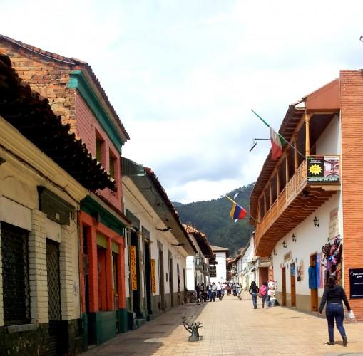 The town of Zipaquira