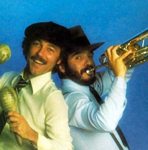The spectacularly named Willie Colon and Ruben Blades.