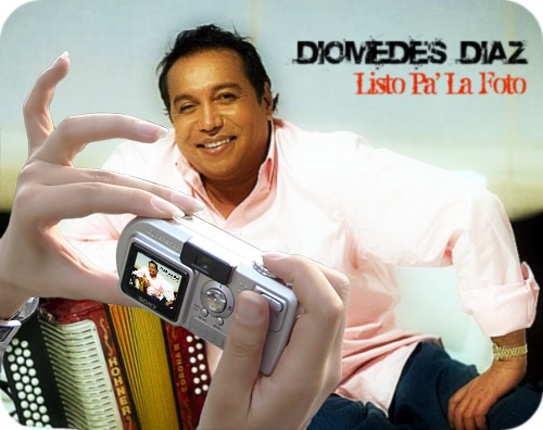 Diomedes Diaz says cheese!