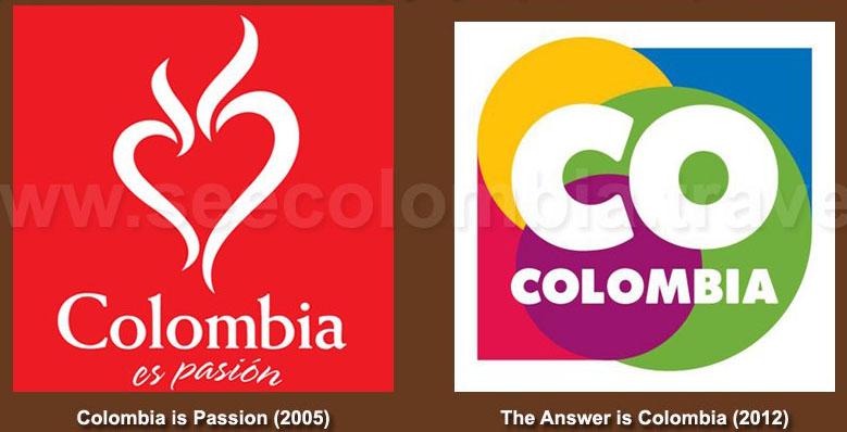 El cambio de Marca Colombia en 2012.