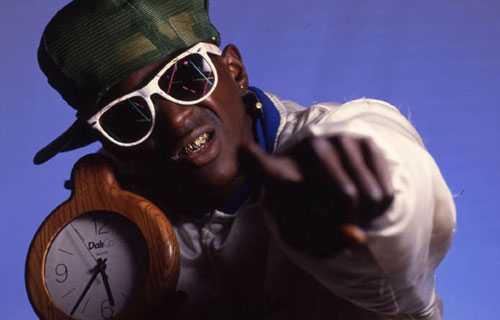 Flav declined my invitation. He was working on Big Brother 27 or something.