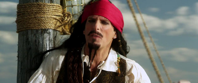 You don't have to be Michael Bolton to appreciate pirate stories.