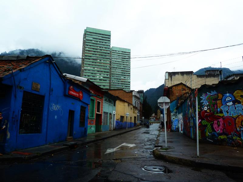 Classic, rainy Bogotá