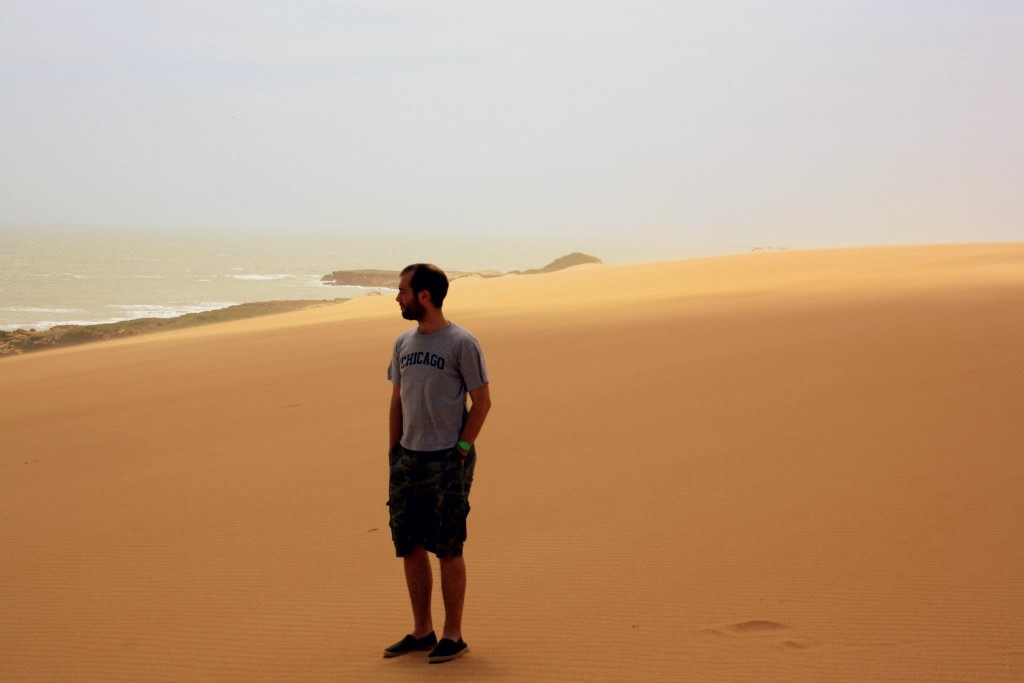 Our friend Paul Fowler in La Guajira. Colombia
