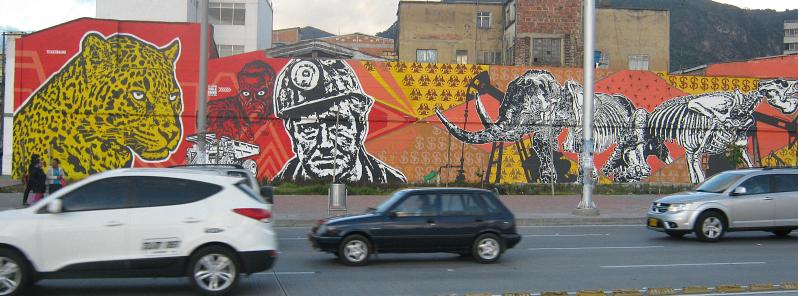 graffiti jaguar skeletons