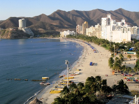 Santa Marta beaches.