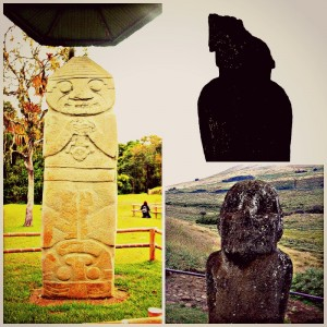 Easter Island and San Agustin, Colombia