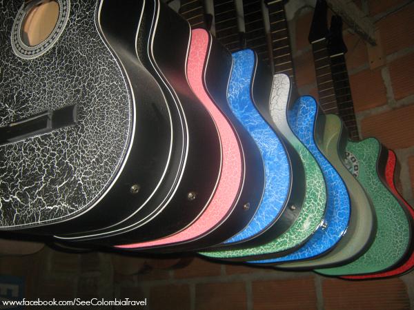 Guitar factory, Marinilla, Antioquia