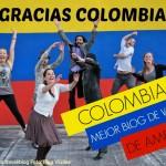 Colombia tiene el mejor blog de viajes de las Américas. !Gracias a todos!