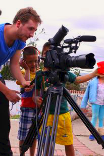 Future cameramen in the making?
