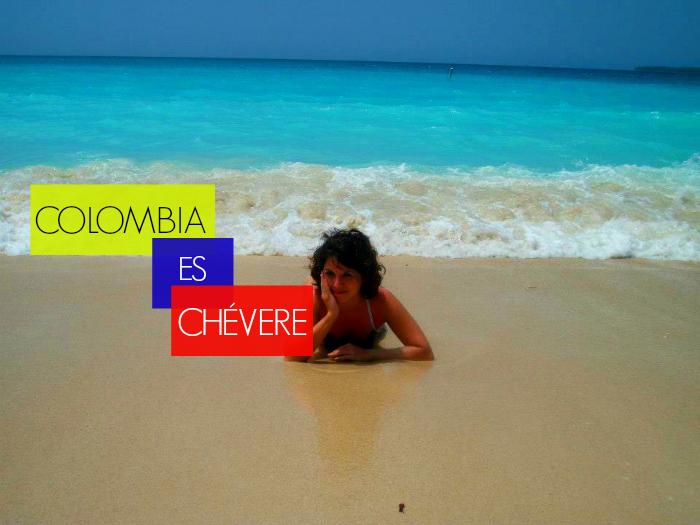 Lydia comparte su mejor momento viajando por Colombia