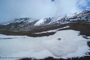 The snow-capped peaks of Nevado del Ruiz, near Colombia's Coffee Triangle