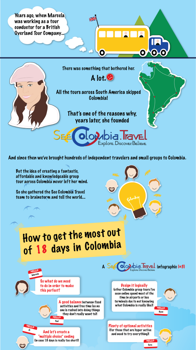 Group Tours in Colombia