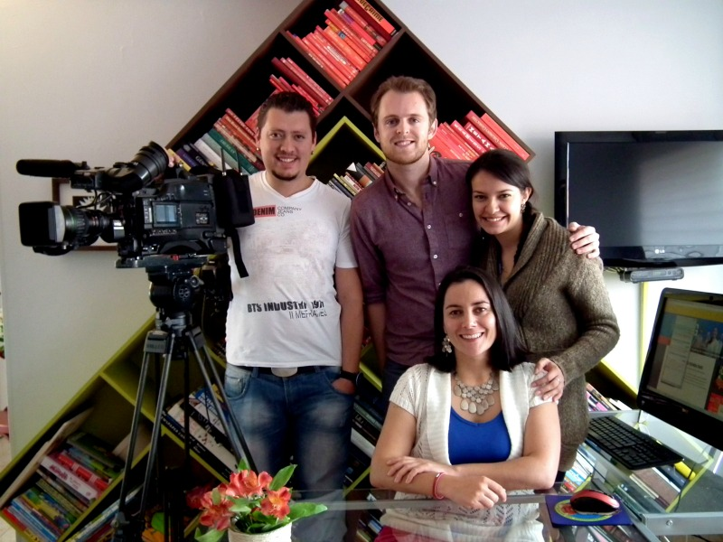 See Colombia Interviewed for Caracol TV Internacional
