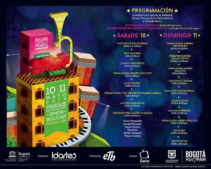 Programme for Salsa al Parque