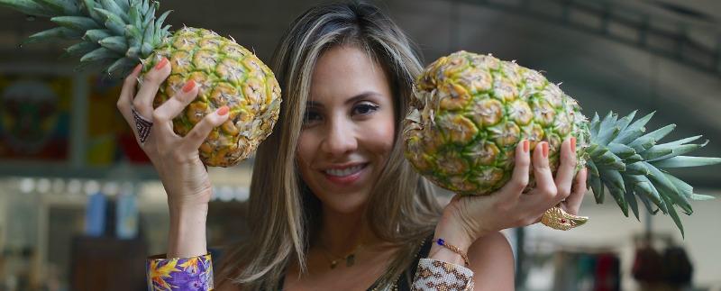 Ana Maria Flor Amazona Pineapples