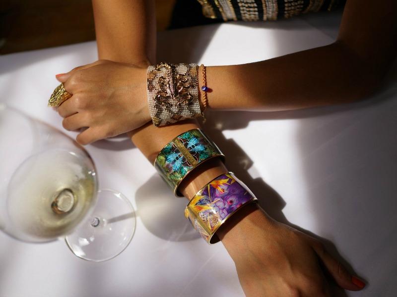 Flor Amazona Bracelets