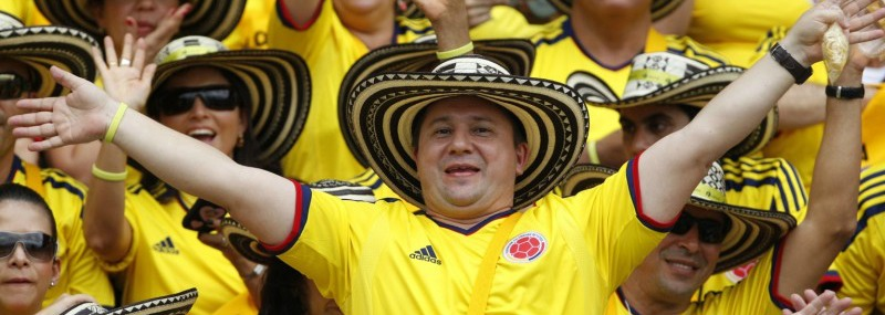 Happy Colombians Featured