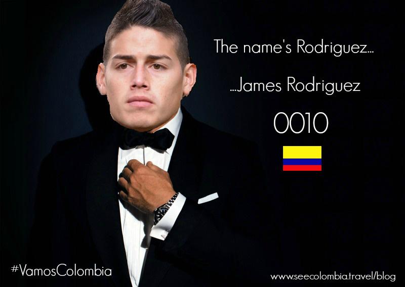 James Rodriguez Bond Meme