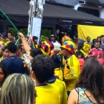 Colombian World Cup Celebrations: The View from the Street