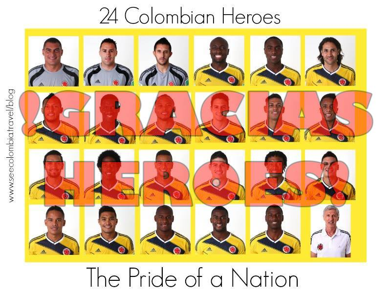 Pride of a Nation Colombia